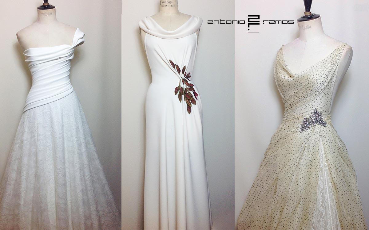 Sonar con mi vestido de novia azul